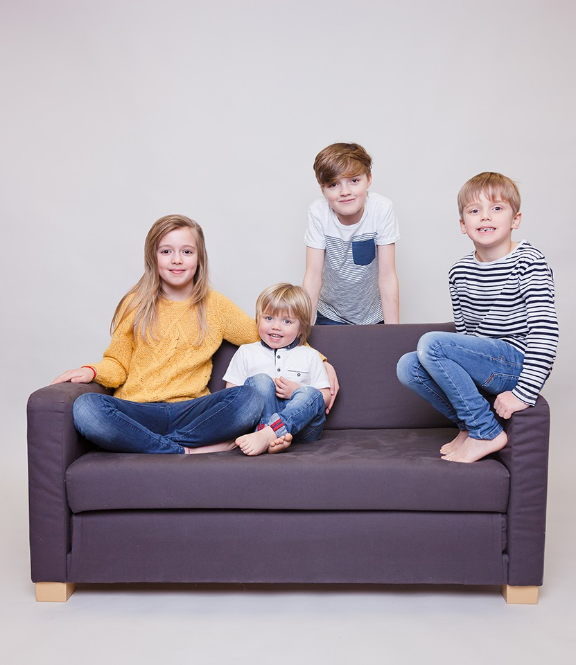fun family photos hawarden, chester children's photography