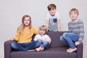 fun family photos hawarden, chester children's photography