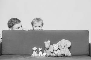 family photography,boy & toys hiding, hide & seek, fun family photo chester