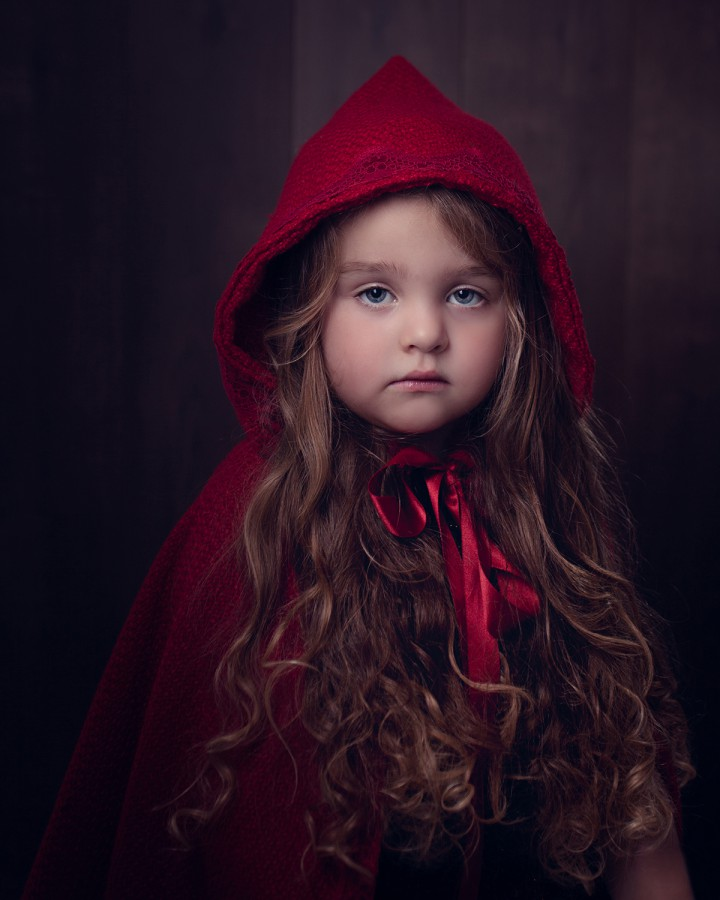 Little Red Riding Hood, little girl photo, Chester children photography