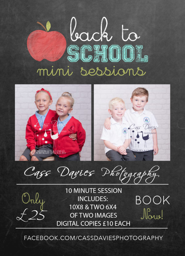 SCHOOL PHOTOS – BACK TO SCHOOL WITH A BANG