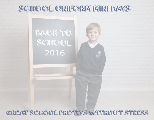 BACK TO SCHOOL MINI SESSIONS LIVERPOOL