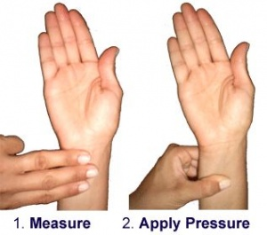 acupressure point for morning sickness relief