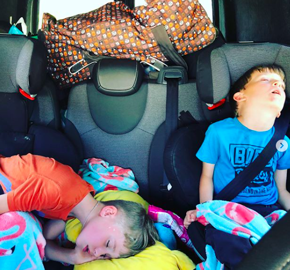 Travelling with Kids – Staying Happy in the Car