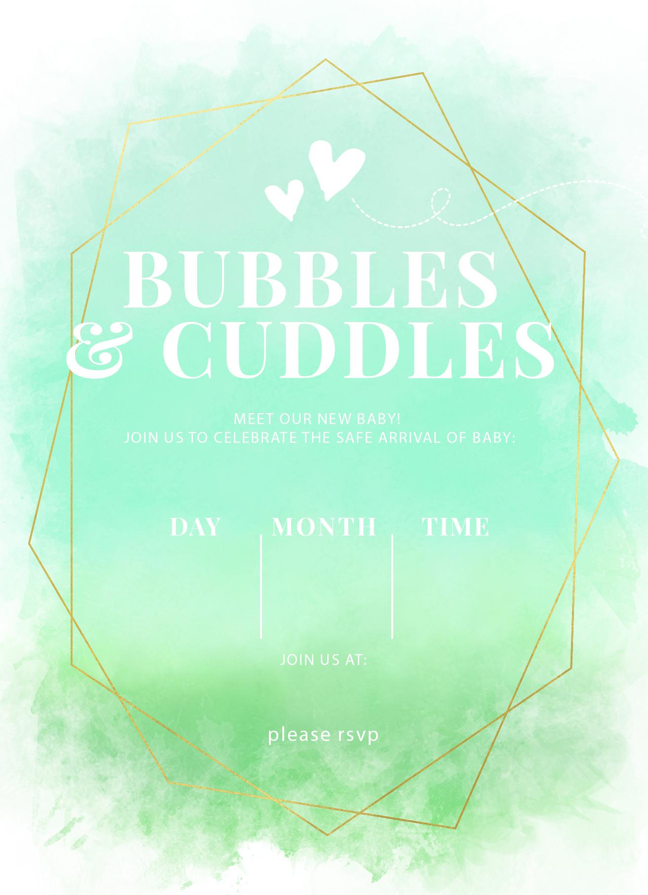 bubbles & cuddles